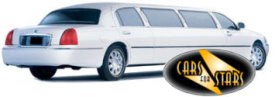 Limo Hire Nottingham - Cars for Stars (Nottingham) offering white, silver, black and vanilla white limos for hire