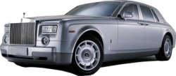 Hire a Rolls Royce Phantom or Bentley Arnage from Cars for Stars (Nottingham) for your wedding or civil ceremony