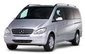 Chauffeur driven Mercedes Viano people carrier - Up to 7 passengers in comfort, from Cars for Stars (Nottingham)